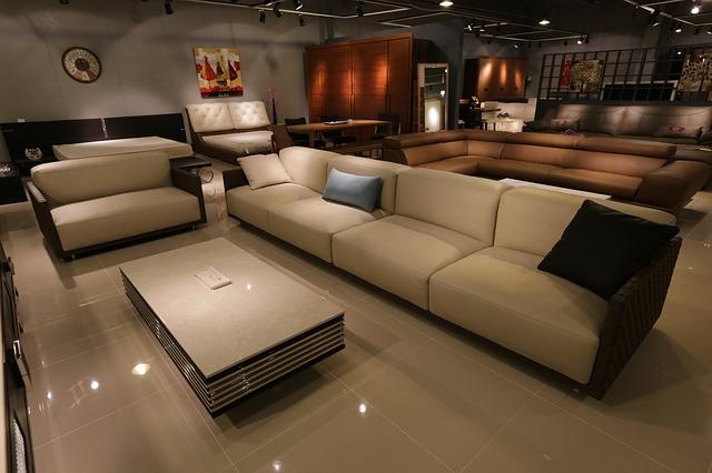 家具屋でソファを選ぶときの注意点