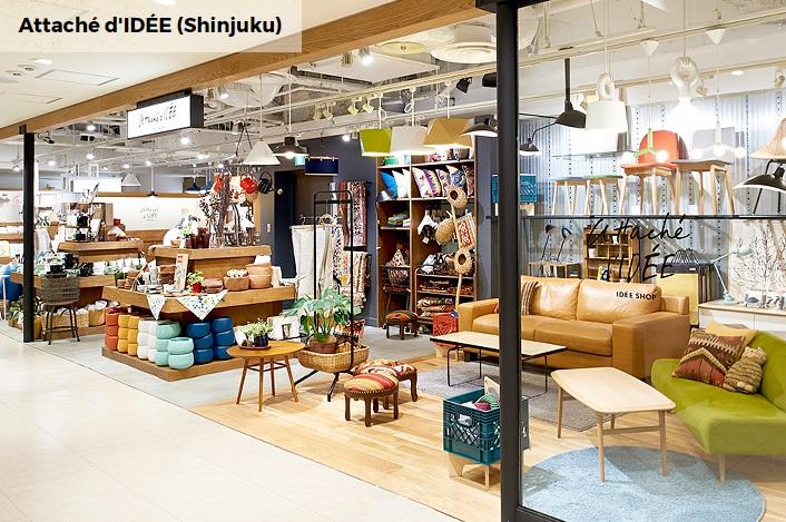 IDEEの新宿店