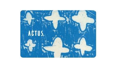 アクタスのポイントカード