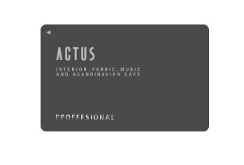 アクタスのプロフェッショナルカード
