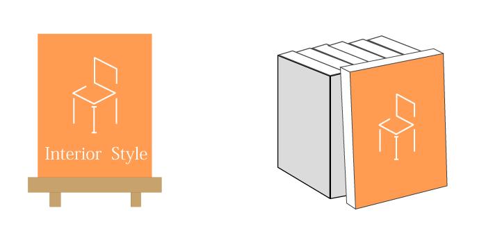 表紙を見せる本の収納