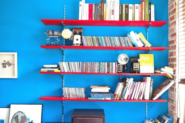本の収納をおしゃれに見せるテクニック