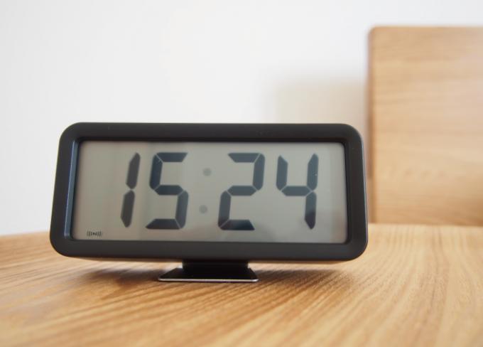 無印良品のデジタル時計の評価