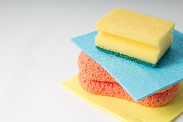 キッチンスポンジの色