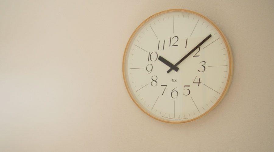 見やすいおすすめの掛け時計
