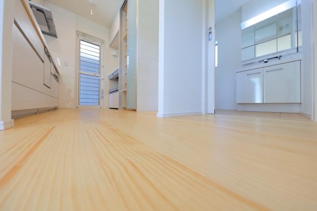 キッチンの床の掃除の仕方