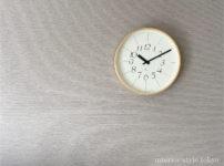 1万円以下で買える。シンプルな掛け時計「Lemnos RIKI CLOCK」