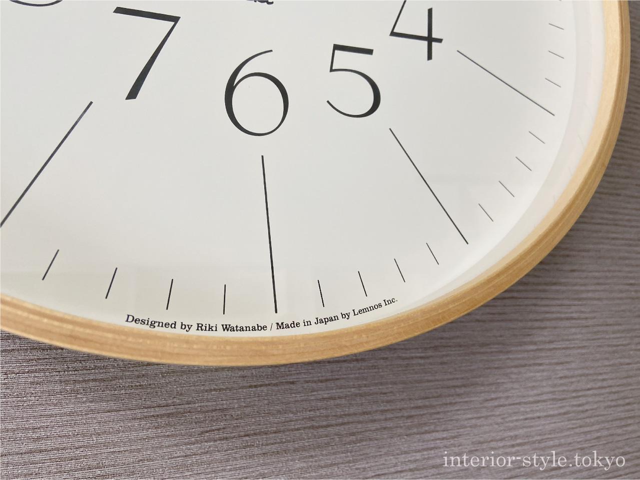 RIKI CLOCKのデザイナー名