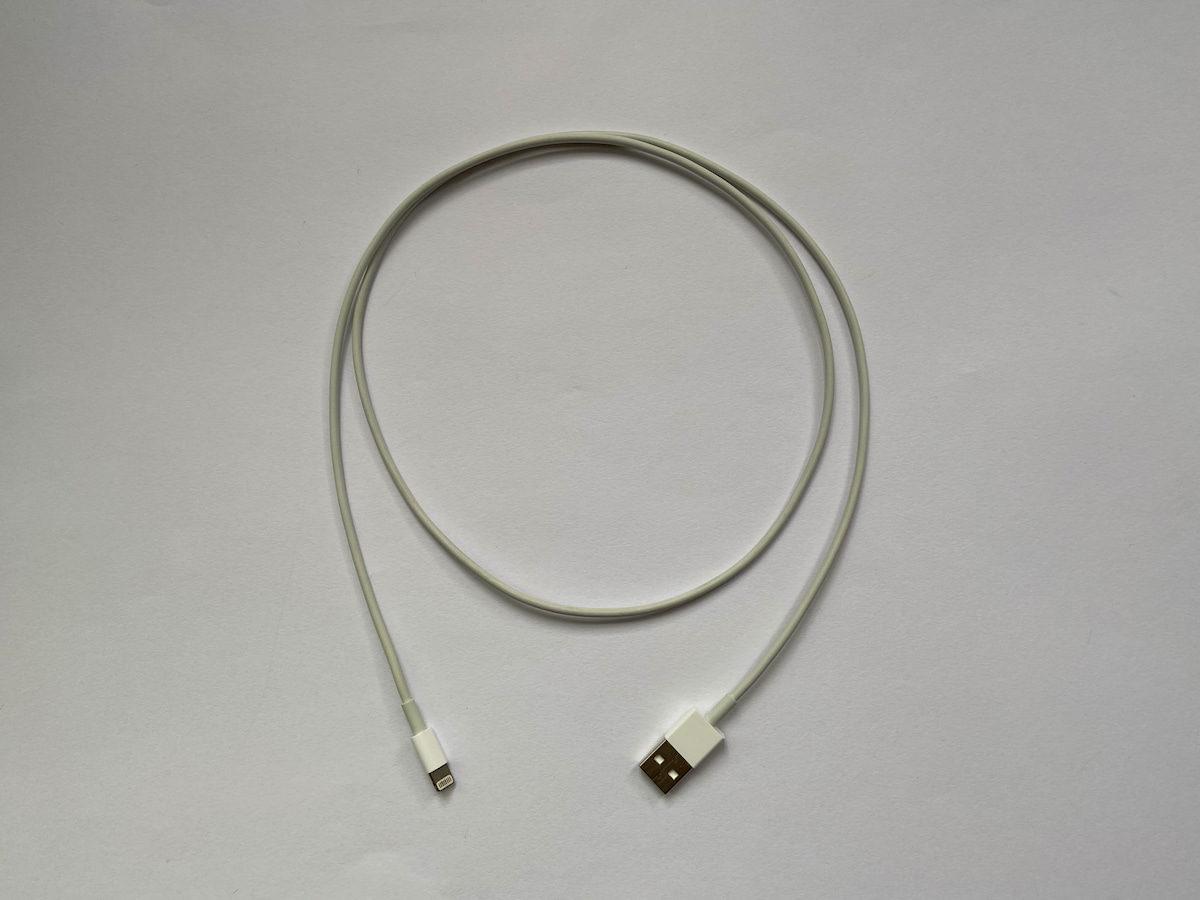 iPhoneの充電に使えるLightningケーブル